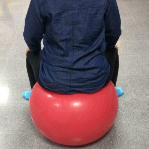 Cursos de embarazo, ejercicios en pelota