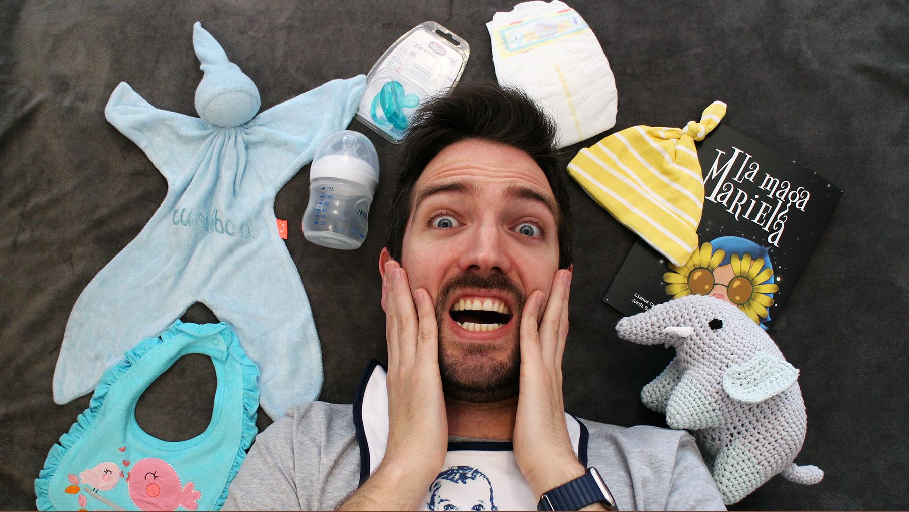 La cara que se te queda cuando te dicen que vas a ser padre y no estás preparado