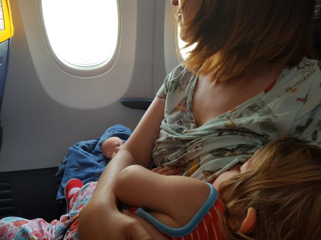 Mamar para volar mejor