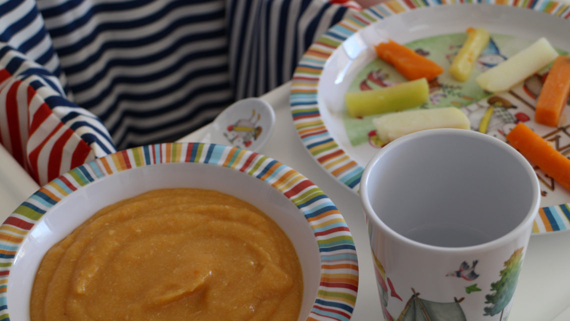 Baby Led Weaning mixto verduras y puré
