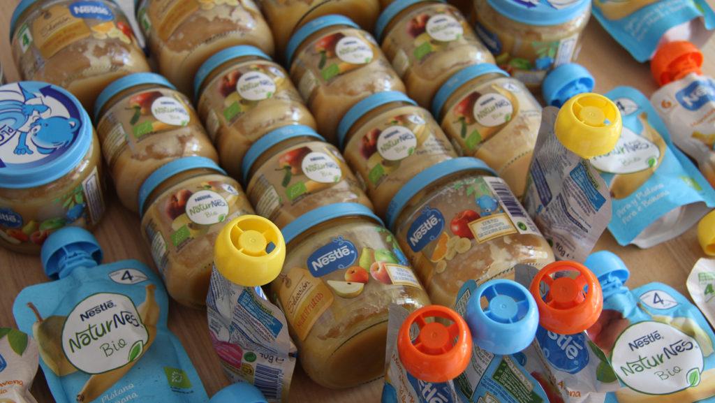 Lote de productos Nestlé