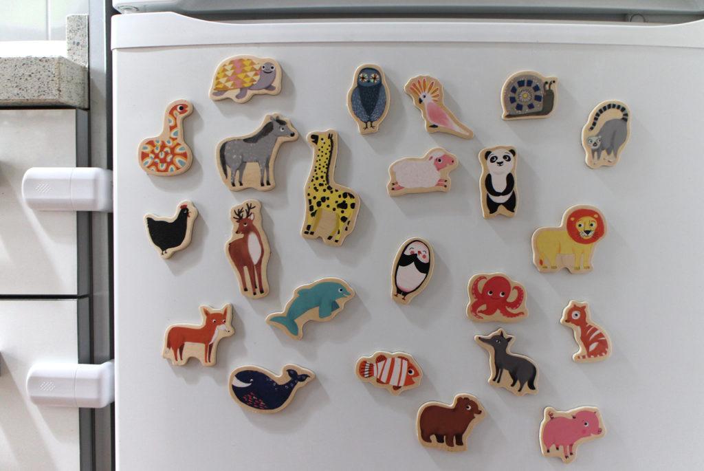 Imanes de animales para la nevera